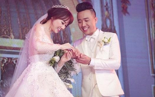 đám cưới hari và trấn thành
