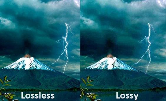 lossy và lossless