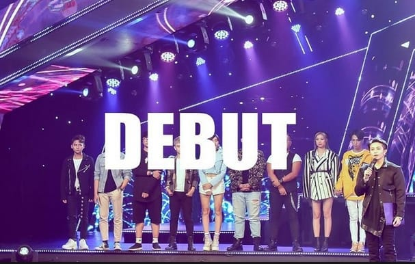 debut trong showbiz